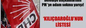 CHP'li belediye başkanlarının PM 'ye adam sokma yarışı!
