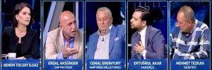 CHP'li Erdal Aksünger de Haber Global canlı yayınını terk etti