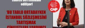 CHP'li Taşcıer: Her 6 genç kadından sadece biri istihdam ediliyor!