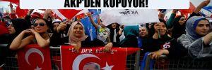 Gezici Araştırma: Kadın seçmenler AKP'den kopuyor!