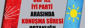 CHP ile İYİ Parti arasında konuşma süresi ortaklığı!