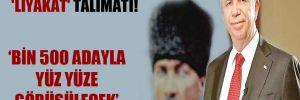 Mansur Yavaş'tan 'liyakat' talimatı!