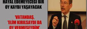 Abdüllatif Şener: AKP, hayal edemeyeceği bir oy kaybı yaşayacak
