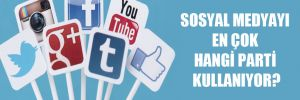 Sosyal medyayı en çok hangi parti kullanıyor?