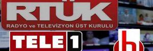 TELE 1'den protesto çağrısı: Aydınlık için bir dakika karartma