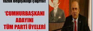 Eminağaoğlu'ndan CHP'ye tüzük değişikliği çağrısı!