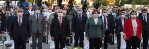 Kılıçdaroğlu ve Akşener toplu açılış törenine katıldı