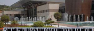 500 milyon liraya mal olan Türkiye'nin en büyük kongre merkezi çürümeye terk edildi!