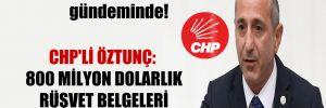 FinCEN belgeleri Meclis gündeminde! CHP'li Öztunç: 800 milyon dolarlık rüşvet belgeleri İstendi mi?