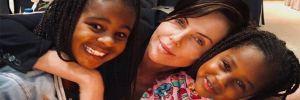 Charlize Theron: Kalbim bu iki güzel enerji deposuna ait