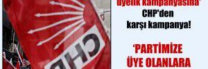AKP'nin 'Saray gezili üyelik kampanyasına' CHP'den karşı kampanya!