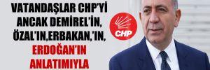 Gürsel Tekin: Vatandaşlar CHP'yi ancak Demirel'in, Özal'ın, Erbakan,'ın, Erdoğan'ın anlatımıyla biliyor!