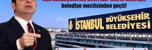 İBB'ye ait bazı taşınmazların ilçe belediyelerine devri AKP'lilerin oylarıyla belediye meclisinden geçti!