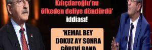 'Salıcı'nın sözleri Kılıçdaroğlu'nu öfkeden deliye döndürdü' iddiası!
