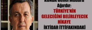 KONDA Genel Müdürü Ağırdır: Türkiye'nin geleceğini belirleyecek hikaye iktidar ittifakındaki bu çatlak