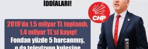 CHP'li Emir'den 'Evrensel Hizmet Fonu' iddiaları!