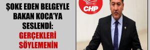 CHP'li Emir şoke eden belgeyle Bakan Koca'ya seslendi: Gerçekleri söylemenin vakti geldi