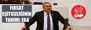 CHP'li Bülbül: Hükümet eğitim hakkını sağlamaktan aciz!