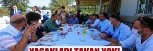 AKP'li meclis üyesinin kızına yemekli nişan!