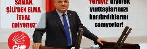 CHP'li Barut: Sürekli 'Yerliyiz' diyerek yurttaşlarımızı kandırdıklarını sanıyorlar!