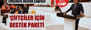 CHP'li Barut'tan Meclis'te çiftçilere destek çağrısı!