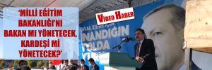 AKP'li belediye başkanından Bakan Selçuk'a ağır suçlama!