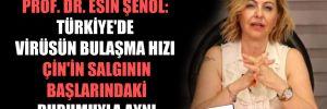 Prof. Dr. Esin Şenol: Türkiye'de virüsün bulaşma hızı Çin'in salgının başlarındaki durumuyla aynı