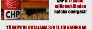 CHP'li 17 kadın milletvekilinden nafaka önergesi!