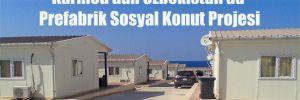 Karmod'dan Özbekistan'da Prefabrik Sosyal Konut Projesi