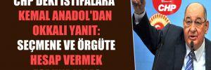 CHP'deki istifalara Kemal Anadol'dan okkalı yanıt: Seçmene ve örgüte hesap vermek zorundalar!