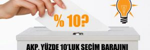 AKP, yüzde 10'luk seçim barajını düşürmeyi gündeme mi aldı?