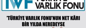 'Türkiye Varlık Fonu'nun net kârı bir yılda neredeyse yarı yarıya düştü'