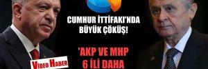 Cumhur İttifakı'nda büyük çöküş! 'AKP ve MHP 6 ili daha kaybediyor'