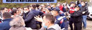 Balık çiftliğinin AKP'li sahibi keşifte köylülere saldırdı!