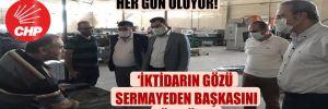 CHP'li Başevirgen: Can suyu verilmeyen esnaf her gün ölüyor!