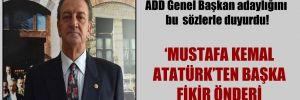 CHP eski milletvekili Bozkurt ADD Genel Başkan adaylığını bu  sözlerle duyurdu!