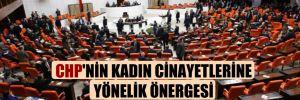 CHP'nin kadın cinayetlerine yönelik önergesi AKP ve MHP oylarıyla reddedildi
