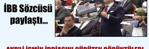 İBB Sözcüsü paylaştı… AKP'li ismin iddiasını çürüten görüntüler!