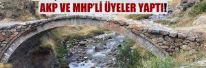 HES şirketinin yapamadığını AKP ve MHP'li üyeler yaptı!