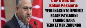 CHP'li Gök'ten Bakan Pekcan'a: Yerli nakliyecilerimiz pazar paylarını yabancılara terk etmek zorunda kaldı!