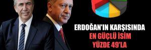 Erdoğan'ın karşısında en güçlü isim yüzde 49'la Mansur Yavaş!