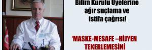 Prof. Sarıalioğlu'ndan Bilim Kurulu Üyelerine ağır suçlama ve istifa çağrısı!