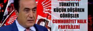 Yılmaz Ateş: Türkiye'yi küçük düşüren görüşler Cumhuriyet Halk Partilileri bağlamaz!