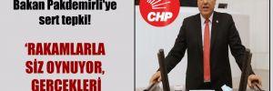 CHP'li Barut'tan Bakan Pakdemirli'ye sert tepki!