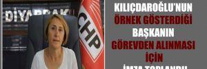 Kılıçdaroğlu'nun örnek gösterdiği başkanın görevden alınması için imza toplandı!