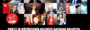 CHP'li 10 büyükşehir belediye başkanı buluştu: Vefat sayıları açıklanandan 2-3 kat fazla