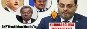 AKP'li vekilden Meclis'te şaşırtan konuşma!