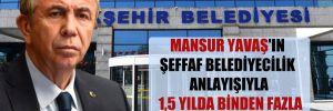 Mansur Yavaş'ın şeffaf belediyecilik anlayışıyla 1,5 yılda binden fazla ihale canlı yayınlandı!