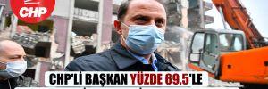 CHP'li Başkan yüzde 69,5'le en başarılı ilçe belediye başkanı oldu!