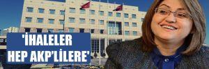 'İhaleler hep AKP'lilere'